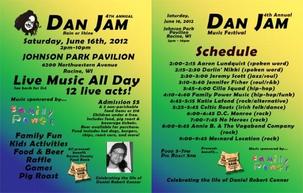 Suturday 6/2516 @ Johnson's Park – 8th Annual Dan Jam!